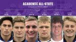 Football: Six Seniors Named Academic All-State