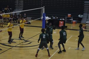 Boys Varsity Volleyball: Evans vs St. Cloud [February 28, 2018]