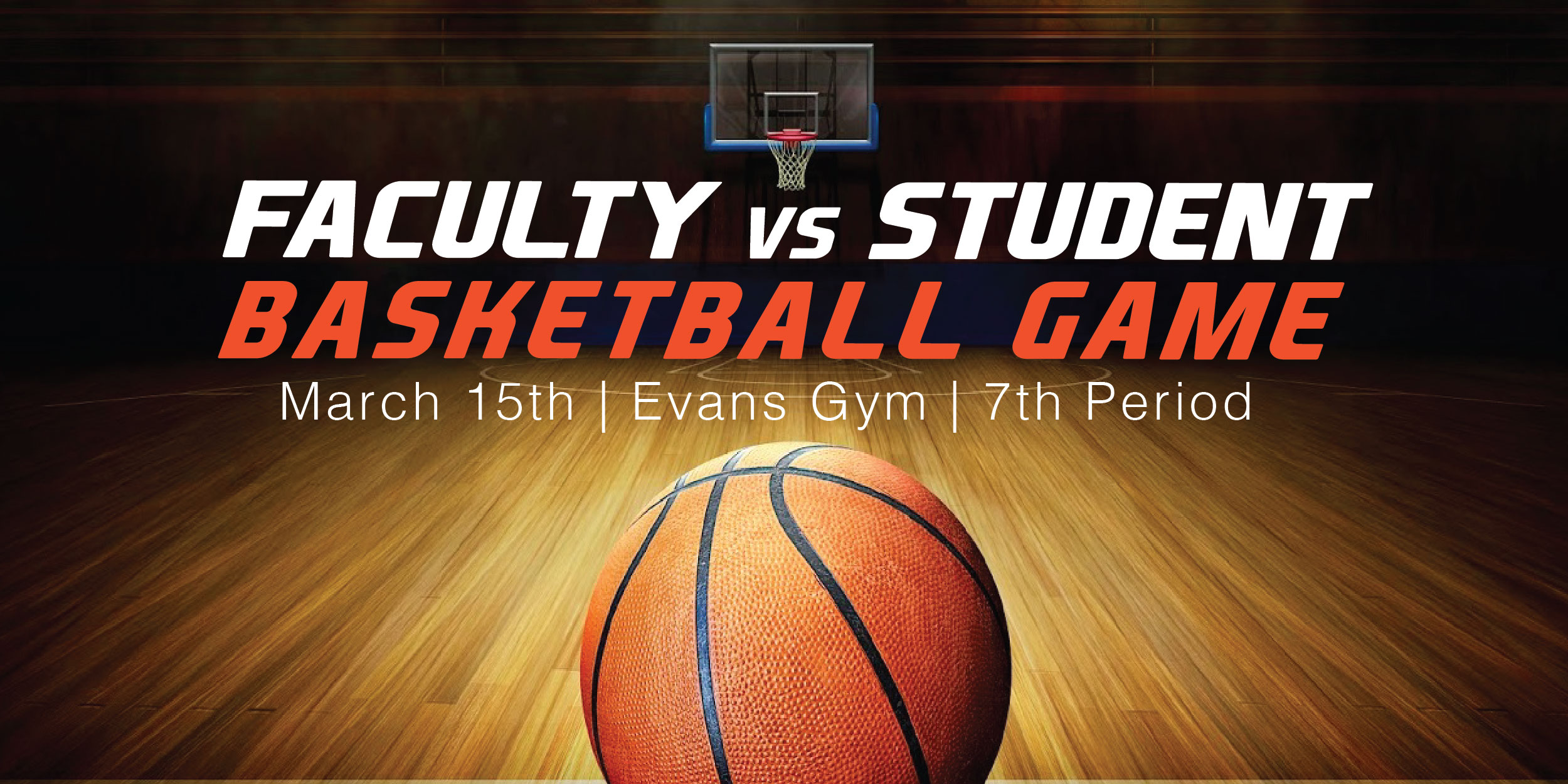 Faculty vs Students Basketball Game