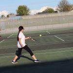 Tennis: Evans vs East Ridge [February 289, 2019]
