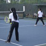 Tennis: Evans vs Dr. Phillips [April 3, 2019]