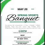 Spring Sports Banquet 2019