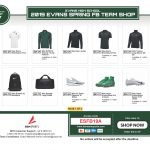 Evans Spring Football Team Shop