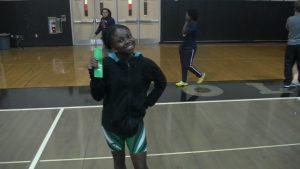 Girls weightlifting