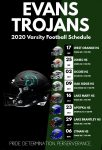 2020 Trojans Varsity Football Schedule