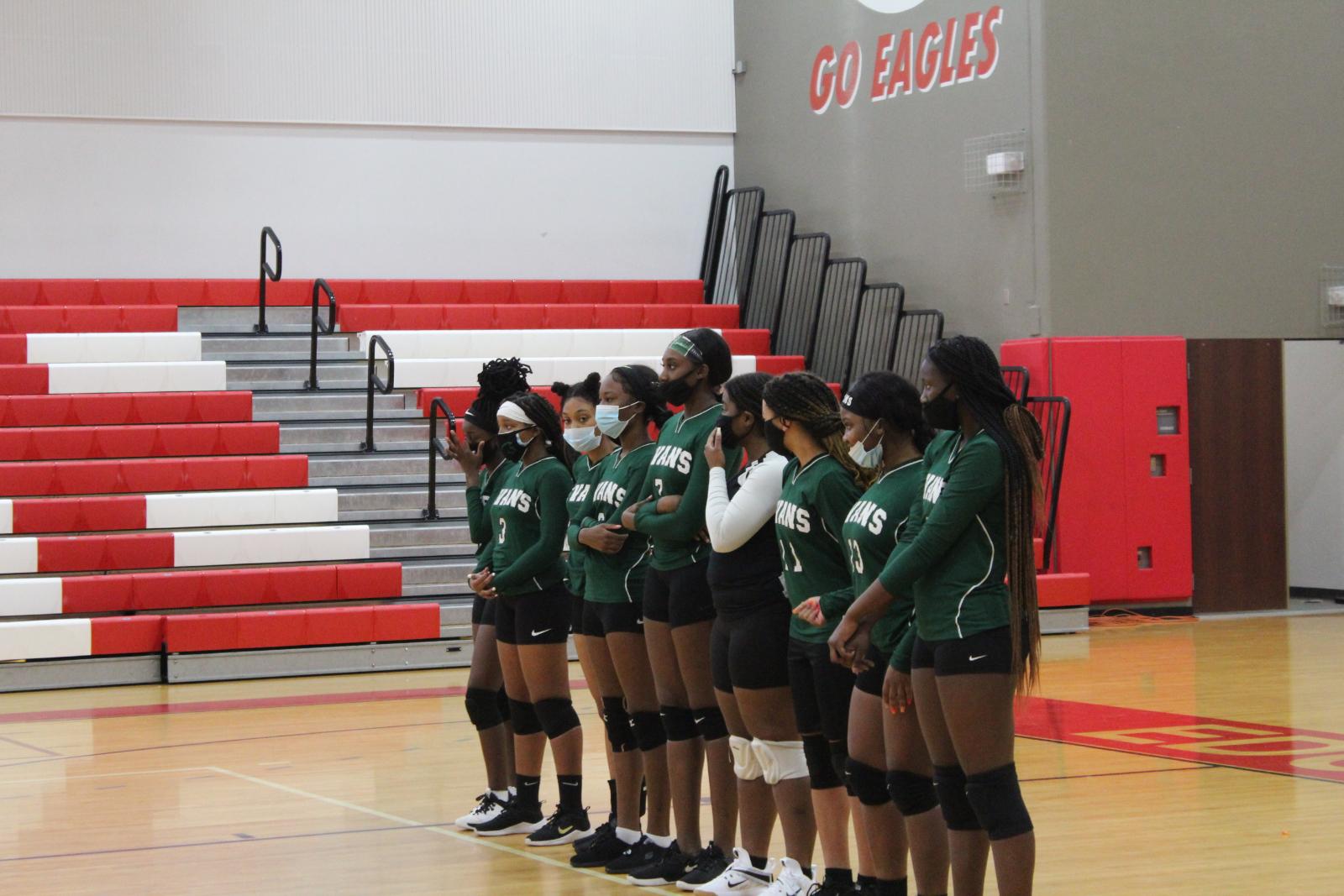 Girls Volleyball vs. Edgewater[September 24, 2020]