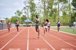 Senior Jahnile Registre Leads Evans Girls Track & Field Team