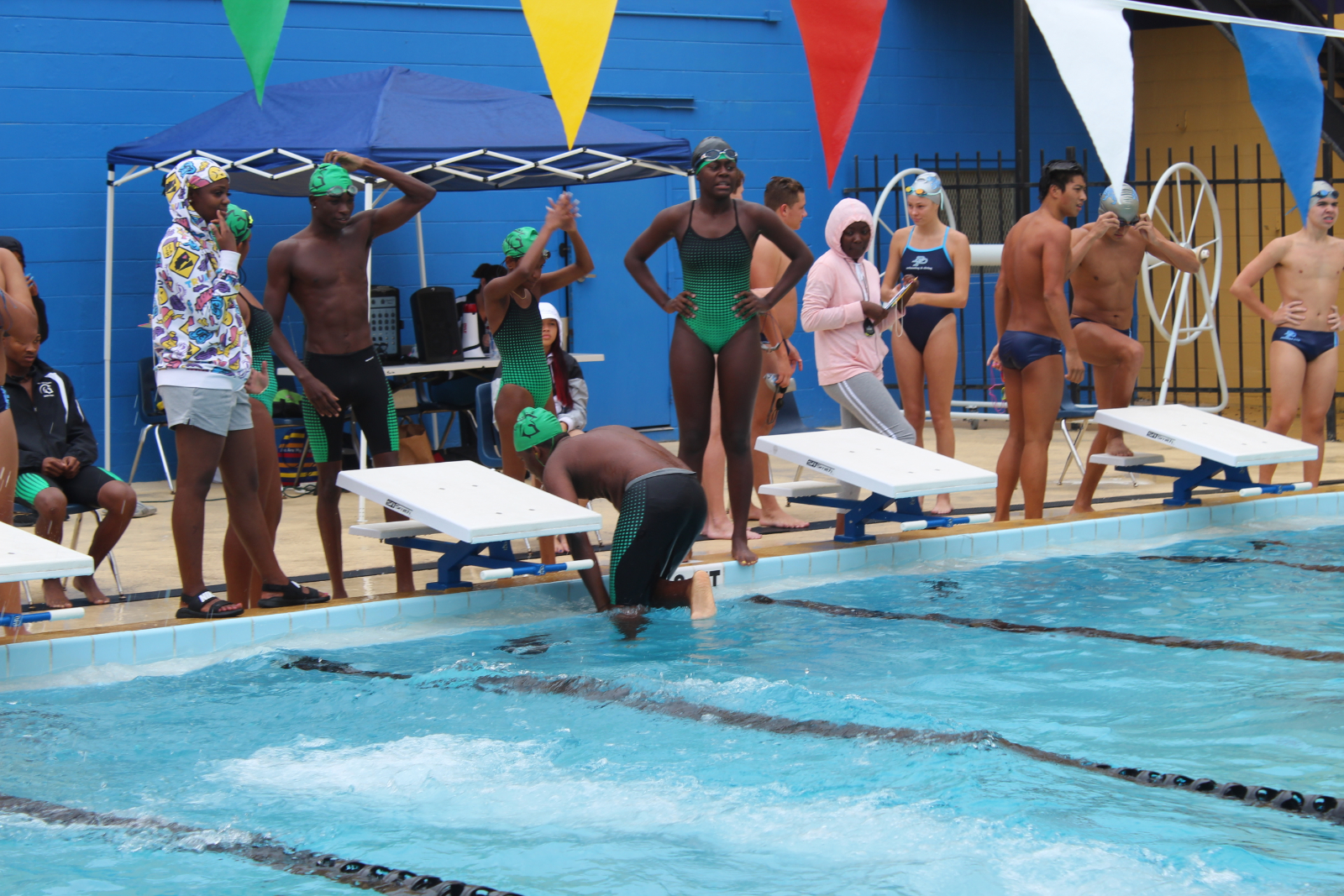 LIVE STREAM: District Swim Meet