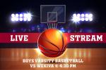 LIVE STREAM @ 7:30pm – Boys Varsity Basketball vs Wekiva