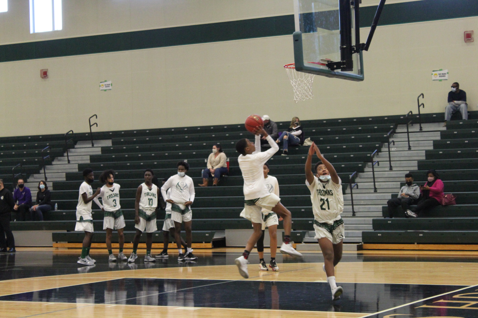 Boy JV Basketball vs. Timber Creek [ February 4,2021]