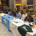 Three Jet Softball Players Sign Scholarships