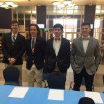 Four Jets Sign Baseball Scholarships