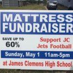 Football To Host Mattress Fundraiser