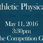 Physicals For Next School Year are 5/11