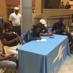 Gistarb Signs Track Scholarship