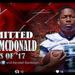 """McDonald Commits to Bama and """"The Process"""""""
