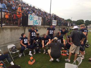 Football Vs Decatur in Jamboree