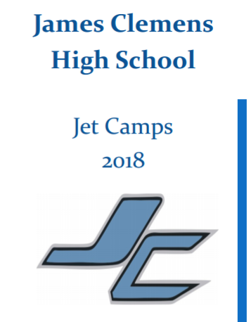 Jet Youth Camps 2018