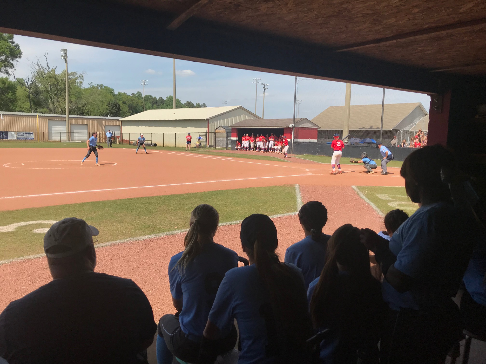 Softball Eliminated From Area Tourney