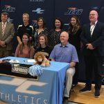 Hollis Signs Swim Scholarship