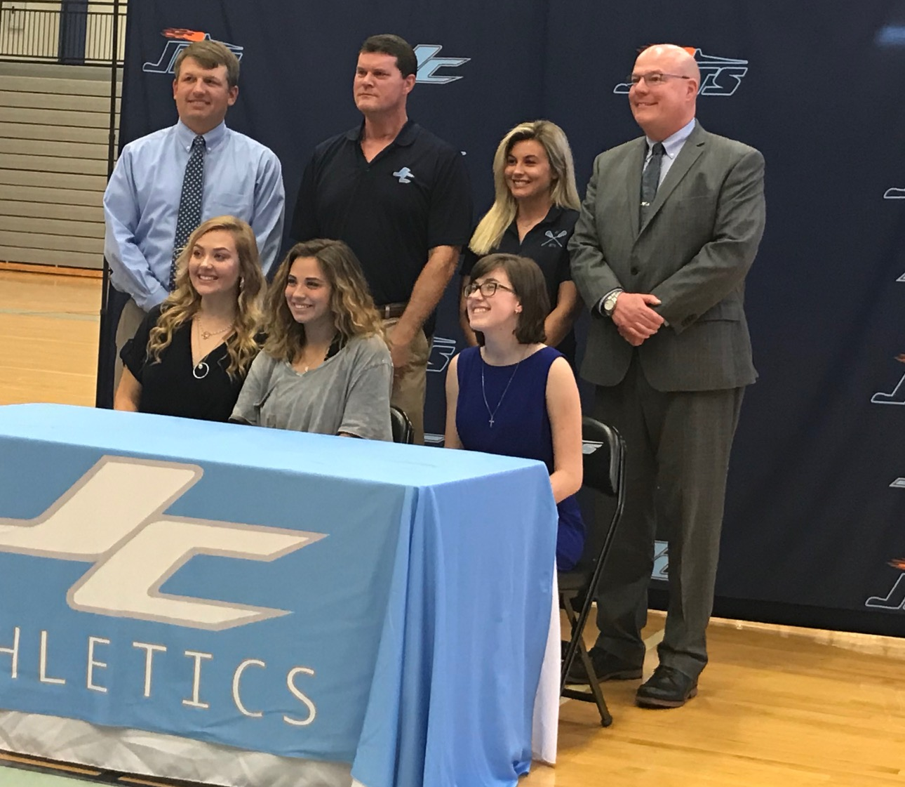 Three Jets Sign for Lacrosse in College