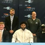 Three Football Players Sign D1 Scholarships