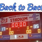 JC Football Makes it 2 in a row in the Madison Bowl!!!