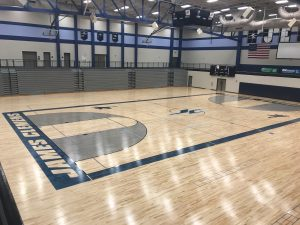 Gym Floor Renovation