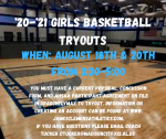 JC Girl's Basketball Try-Outs