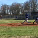 Macon County High School Varsity Baseball beat York 7-5