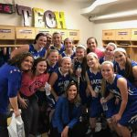 Macon County High School Girls Varsity Basketball beat Smith County High School 50-45
