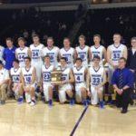 Macon County High School Boys Varsity Basketball beat Livingston Academy 45-43