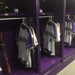 Baseball locker room