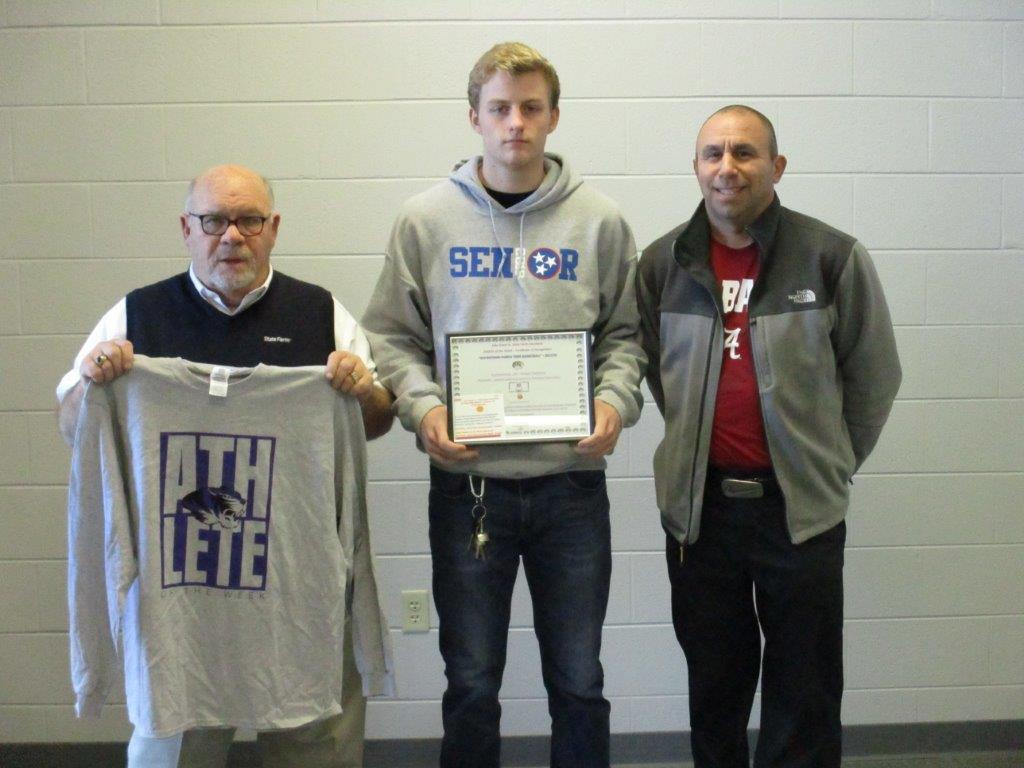 Purple Tiger Athlete of the Week- Basketball
