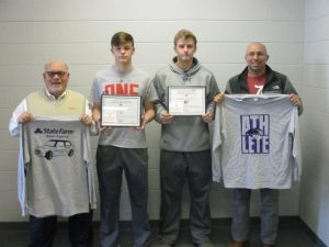 Purple Tiger Athletes of the Week