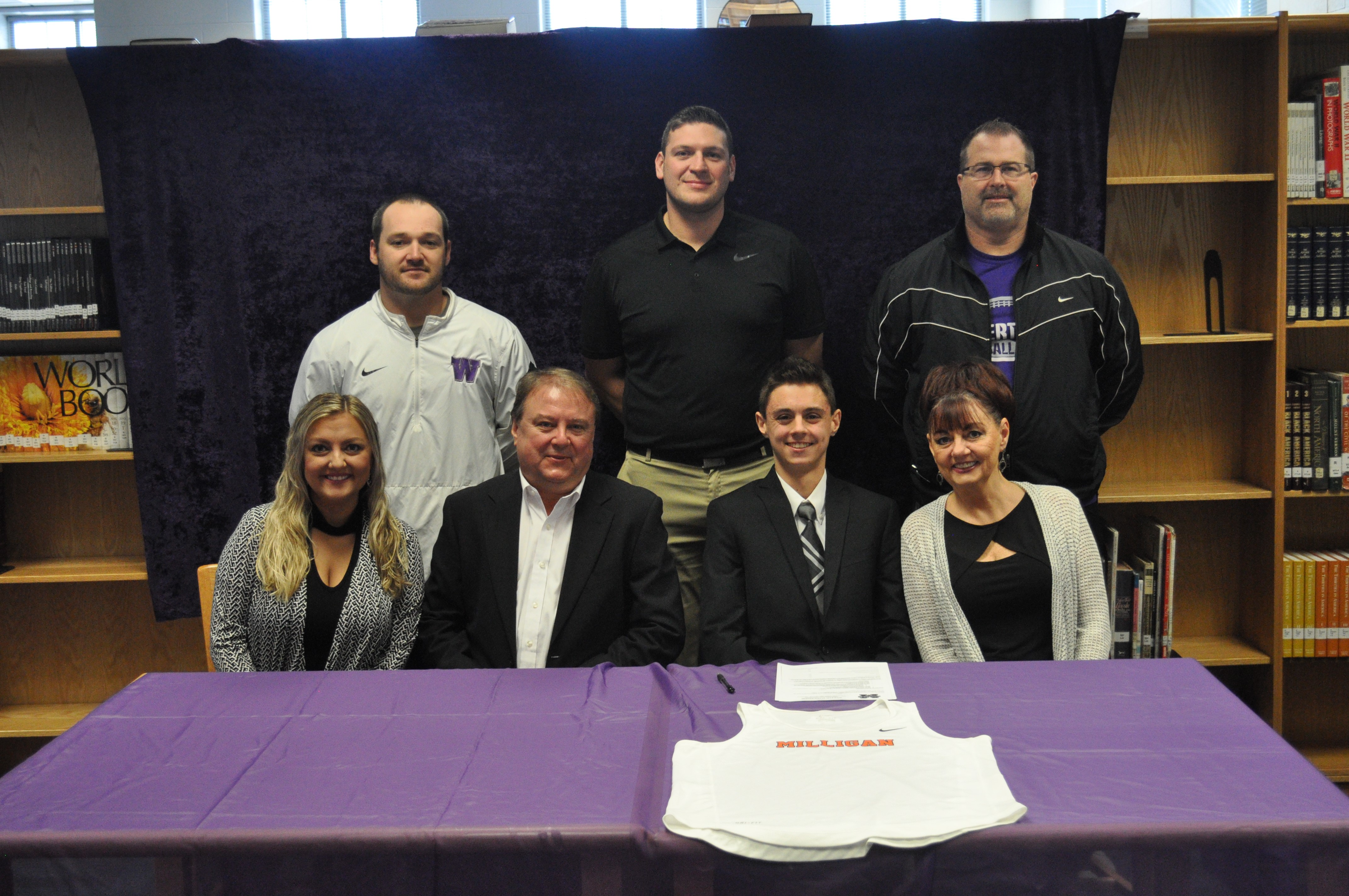 Alex Wims Signs With Milligan College