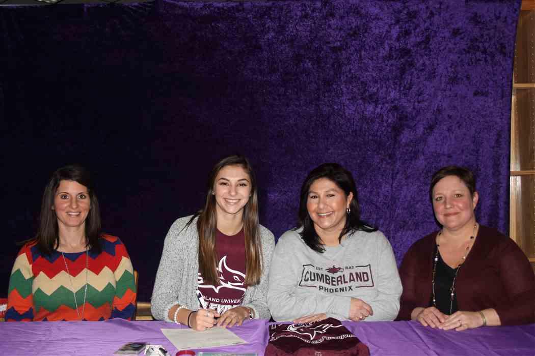 Poston Signs With Cumberland University
