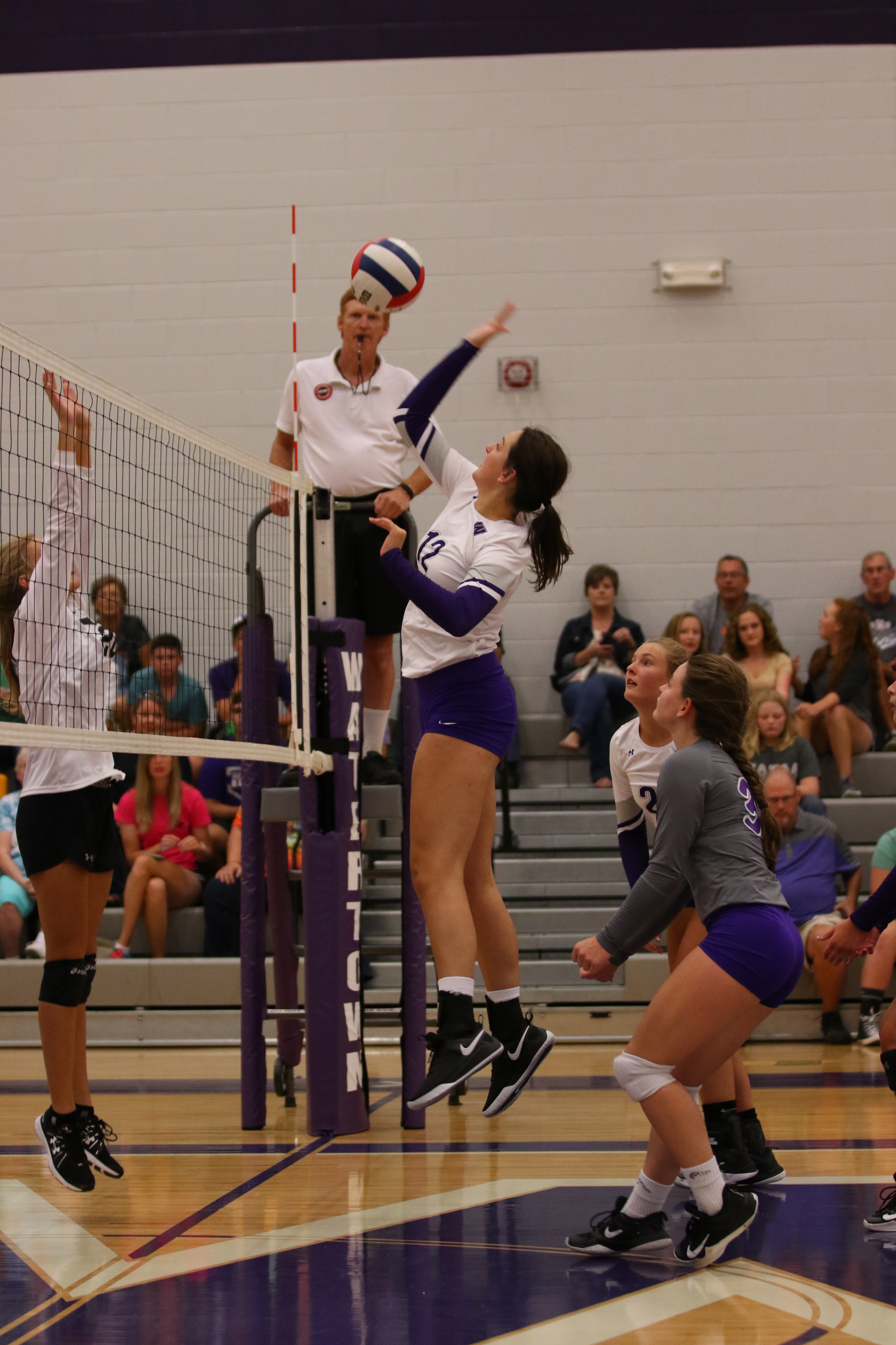 Lady Tiger Volleyball Wins Home Opener