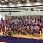 2018 Purple Tiger Cheerleaders