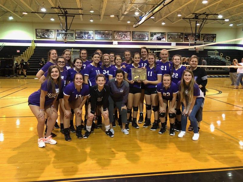 Lady Purple Tigers: District 7 Tournament Champions
