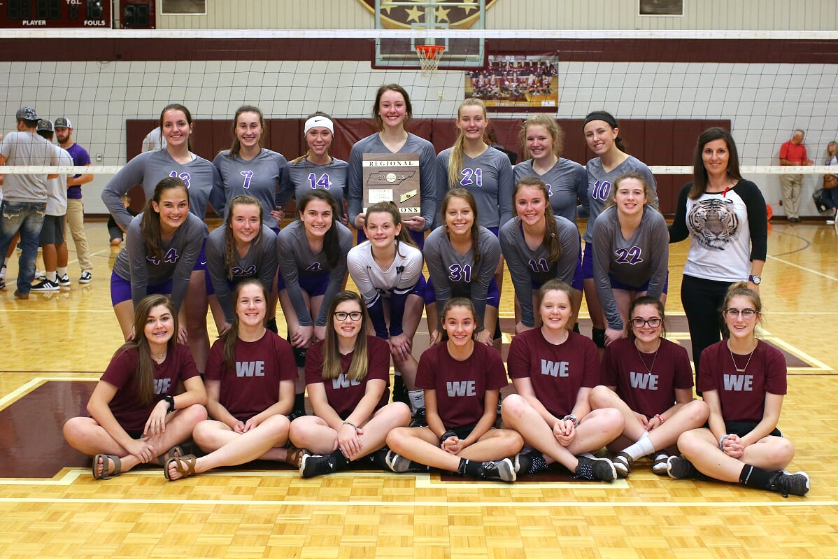 Lady Purple Tigers Repeat As Regional Champs