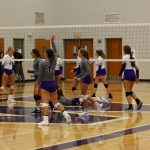Volleyball Wins District Opener