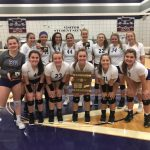 Lady Purple Tigers Volleyball 3 PEAT As Region Champs