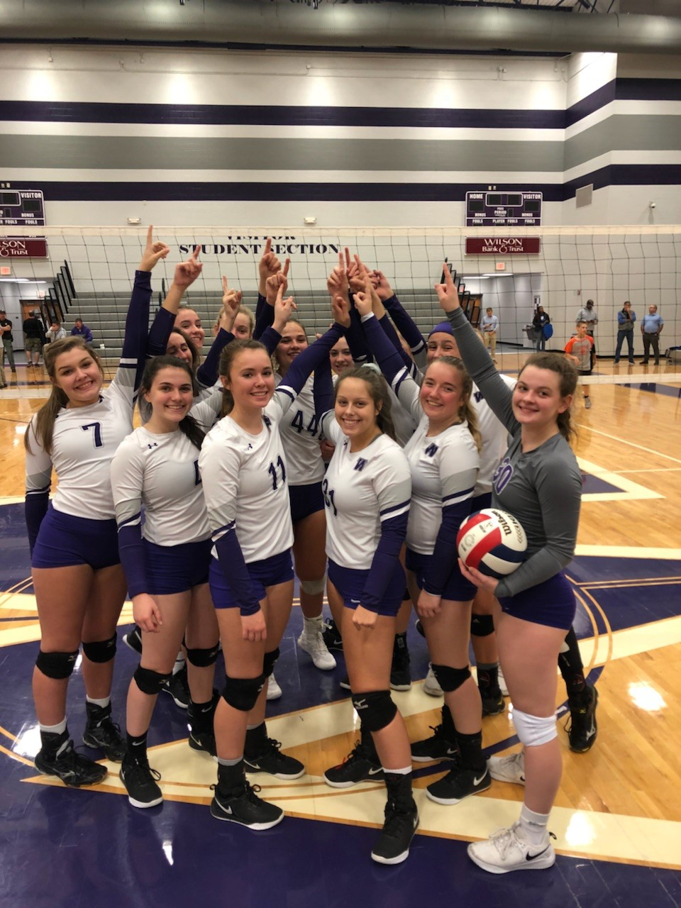 Lady Purple Tigers Dominate And Return To State Tournament