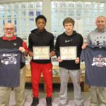 Boys Purple Tiger Athletes of the Week