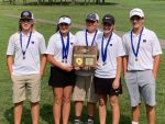Purple Tiger Golf Brings Home District Title