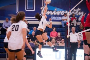 8/18 Volleyball Defeats Park Tudor