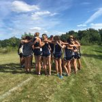 University High School Girls Varsity Cross Country finishes 1st place