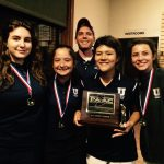 University High School Girls Varsity Golf finishes 1st place