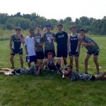 University High School Boys Varsity Cross Country finishes 3rd place